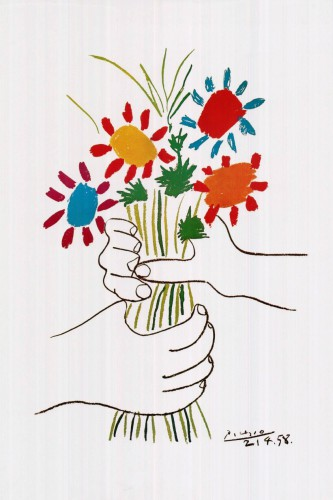 Picasso's flowers.
