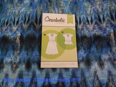 Sewaholic Yaletown – #sewtogetherforsummer Wrap Dress